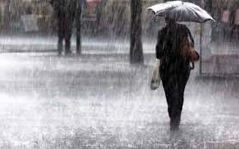 هشدار هواشناسی نسبت به بارش باران