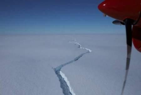 یک کوه یخی به اندازه لندن از قطب جنوب جدا شد