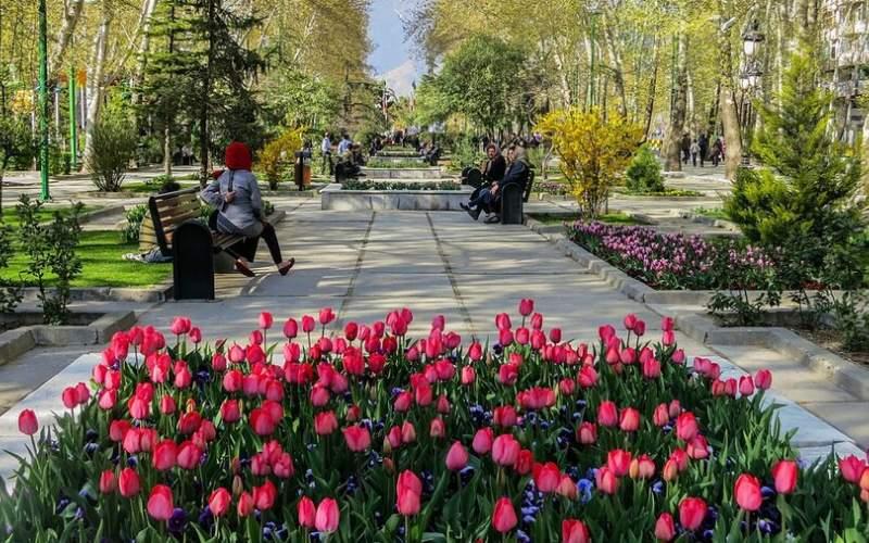 پایتخت با گلآرایی به استقبال نوروز رفت