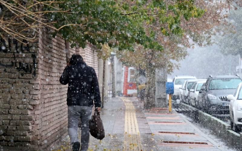 هشدار بارش برف و باران در ۱۴ استان کشور