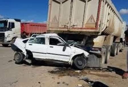 حوادث مرگ ۴ عضو یک خانواده در تصادف