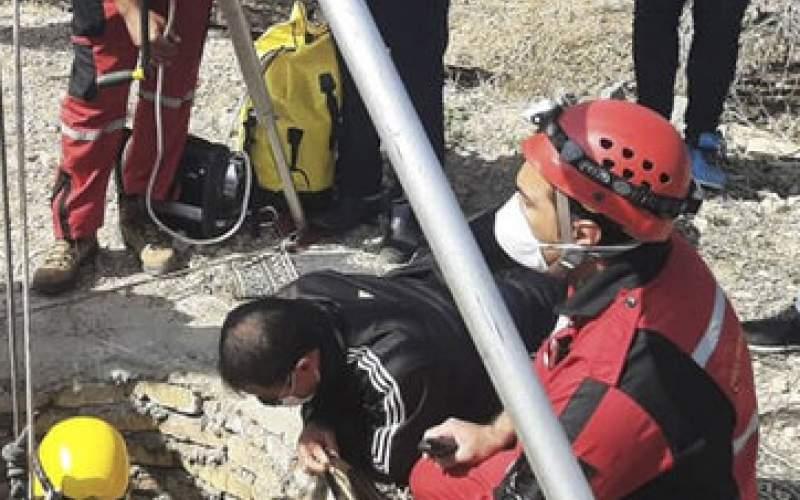 سقوط مرگبار یک جوان ۱۸ ساله نیریزی در چاه