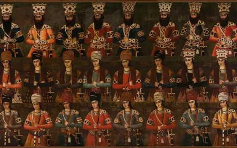 فروش نقاشی کمیاب دوره قاجار در حراج کریستی