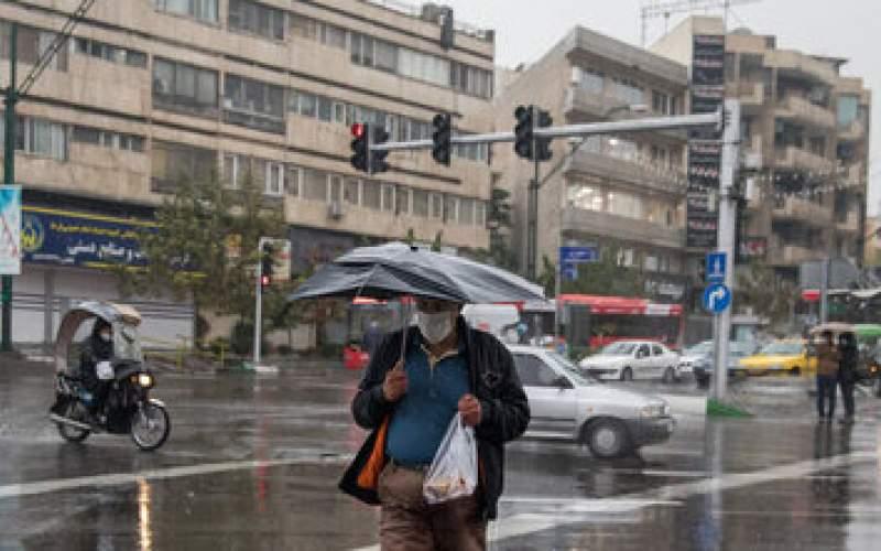 بارش برف و باران در بیش از ۲۰ استان کشور