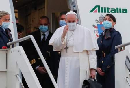 سفر تاریخی رهبر کاتولیکهای جهان به عراق