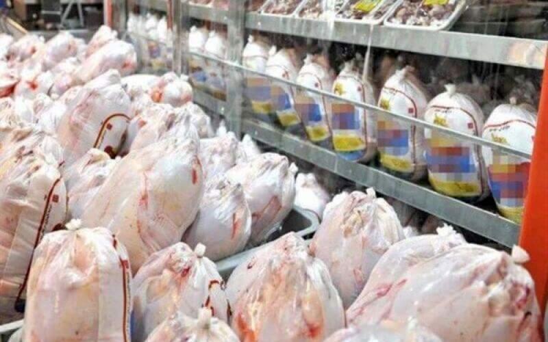 قیمت مرغ در بازار، ۲۱ تا ۲۷ هزار تومان شد