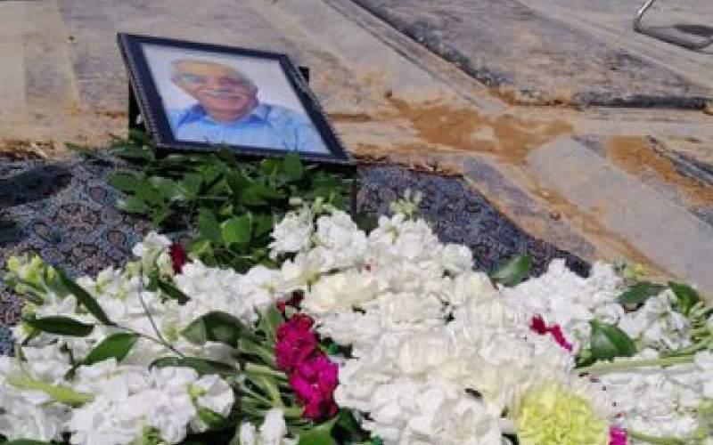 پدر تله تئاتر ایران به خاک سپرده شد