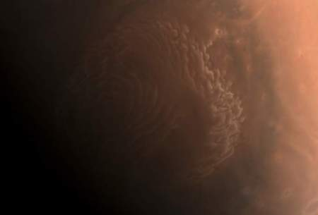 چین جدیدترین تصاویر از مریخ را منتشر کرد