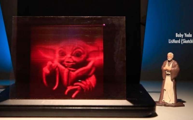 چاپگری که هولوگرام سه بعدی خانگی تولید میکند