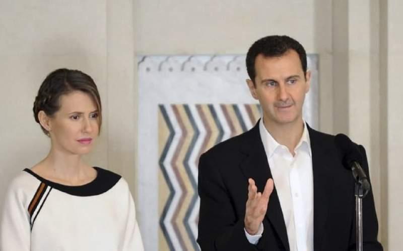 بشار اسد به همراه همسرش به کرونا مبتلا شد