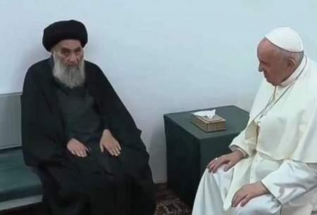 نامه نگاری احمدینژاد با آیتالله سیستانی و پاپ