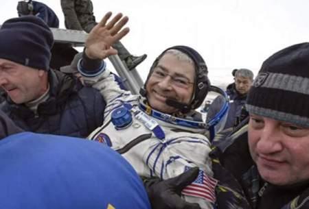 اقامت فضانورد ناسا در فضا یک ساله شد