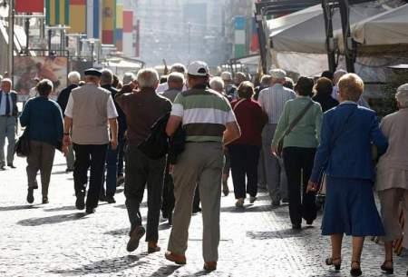 یک پنجم جمعیت اروپا ۶۵ ساله یا بیشترند