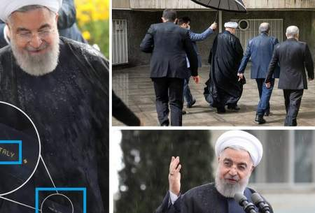 جنجال بر سر قبای ایتالیایی حسن روحانی
