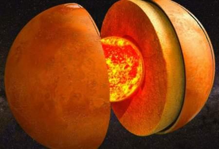 اندازهی هستهی مریخ دراتفاقی ناگهانی کشف شد