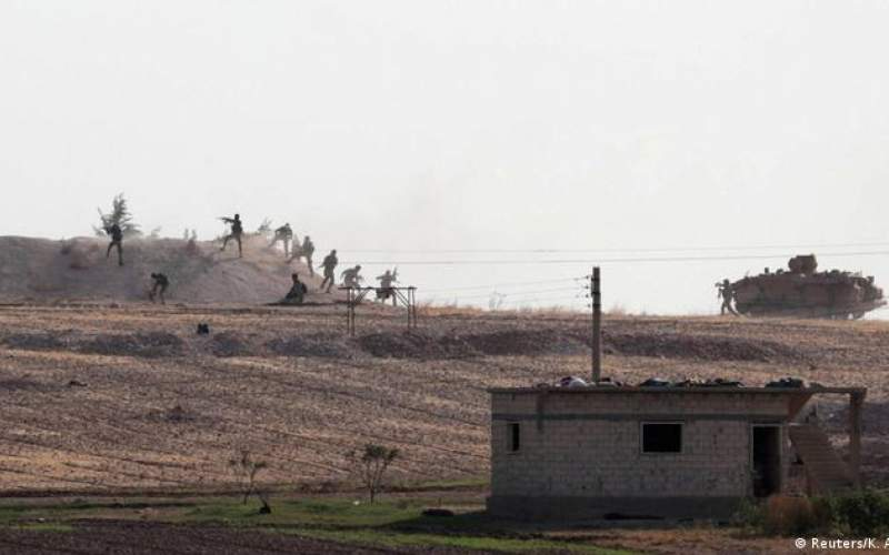 حمله نیروی هوایی ترکیه به مواضع کردها