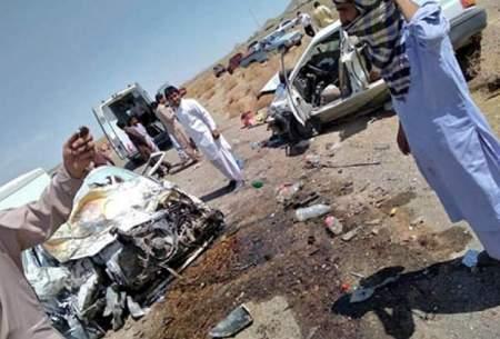 تصادف مرگبار تویوتا ۱۴ فوتی بر جا گذاشت