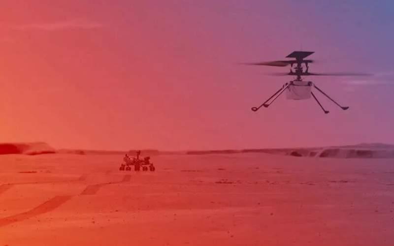 """تاریخ پرواز بالگرد مریخی """"نبوغ"""" اعلام شد"""