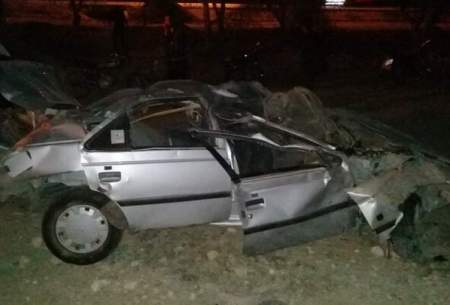 واژگونی مرگبار پژو ۴ کشته به جا گذاشت