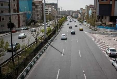 وضعیت ترافیکی معابر پایتخت چگونه است؟