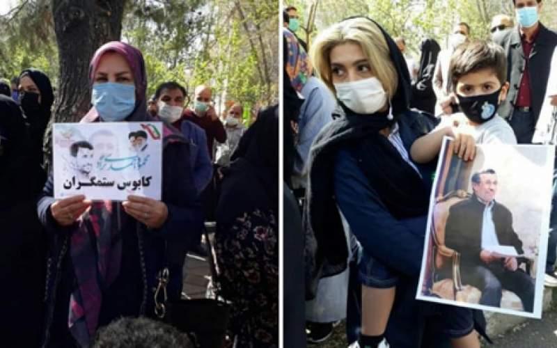 تجمع هواداران احمدینژاد در نارمک/تصاویر
