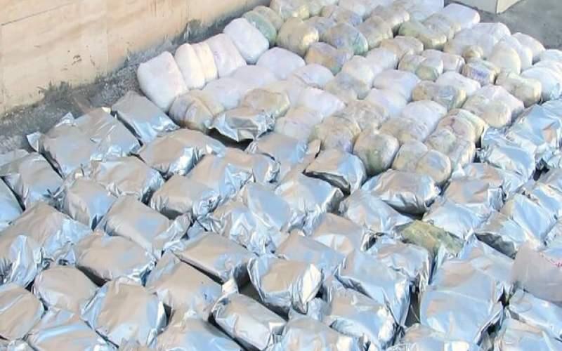 ۳۱۰ کیلو گرم مواد مخدر در مازندران کشف شد