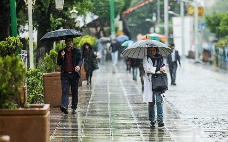 آغاز بارش های ۵ روزه در اکثر مناطق کشور