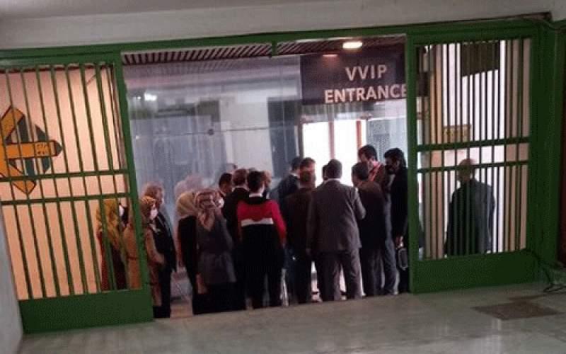 حضور دوباره بانوان سوری در ورزشگاه آزادی/تصاویر