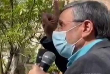 احمدینژاد: بلایی سر دین آوردند که کمونیستها نتوانستند