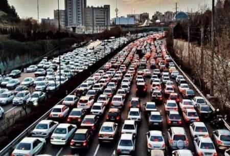 ترافیک روان در اکثر معابر تهران