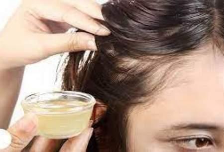درمان ریزش موی سر با مصرف یک روغن خوراکی