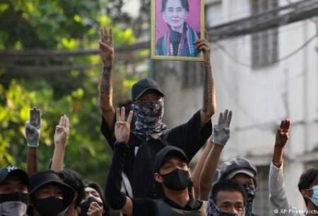 محكومیت خشونت علیه معترضان در میانمار