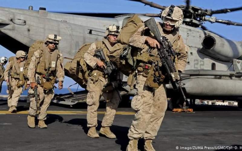 كاهش  نیروهای آمریکایی در خلیج فارس