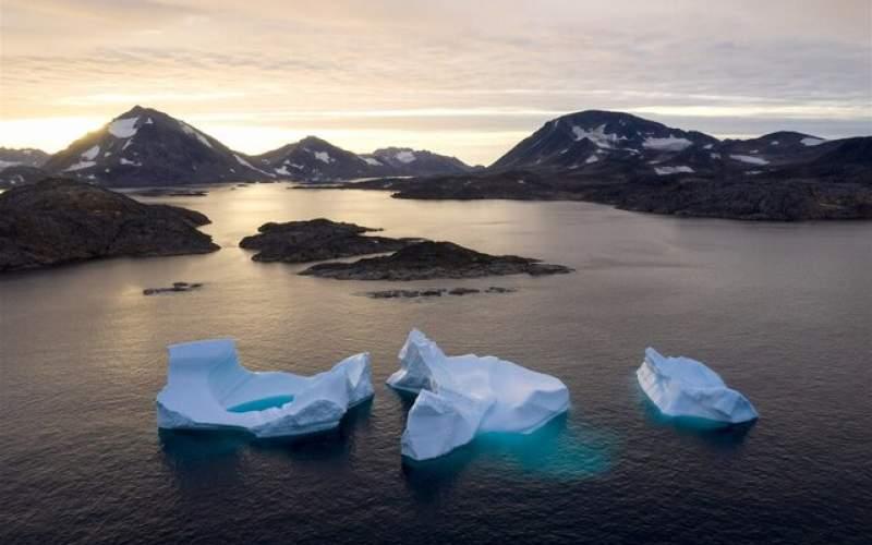 ذوب شدنیخها وافزایش 18متریسطح جهانی دریا