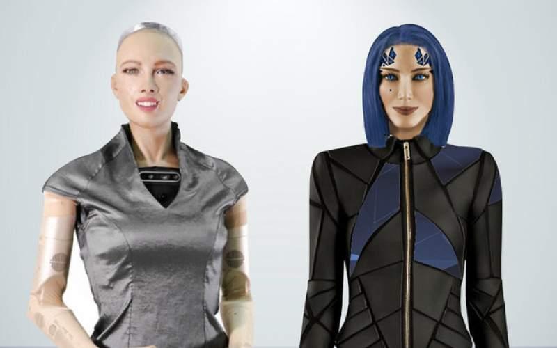 """ربات """"سوفیا"""" صاحب یک خواهر جدید شد"""