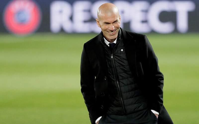 زیدان از حال خوش رئال مادرید گفت