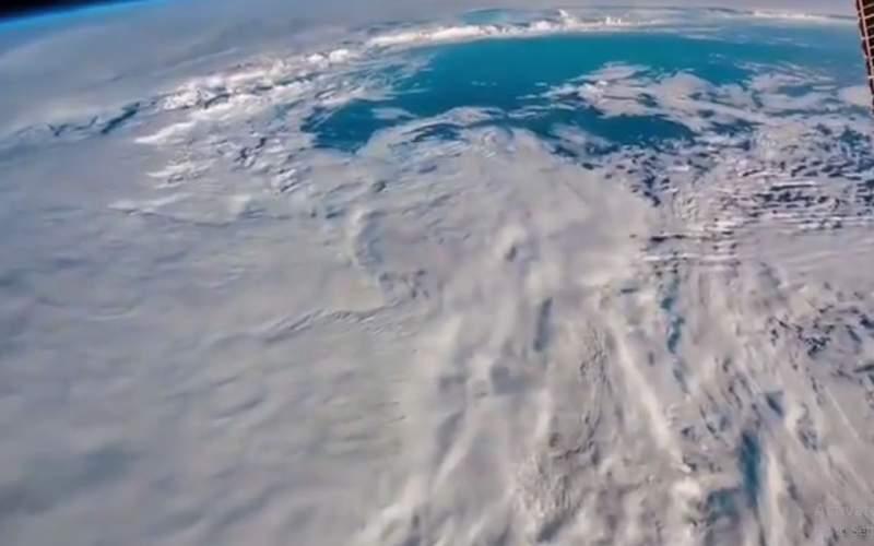 چهره واقعی زمین از داخل ایستگاه فضایی ISS