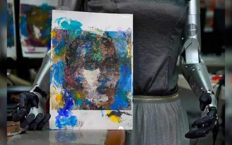 اثر هنری یک ربات که ۶۸۸ هزار دلار فروخته شد