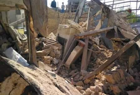 انفجار یک ساختمان در محله جوانمرد قصاب