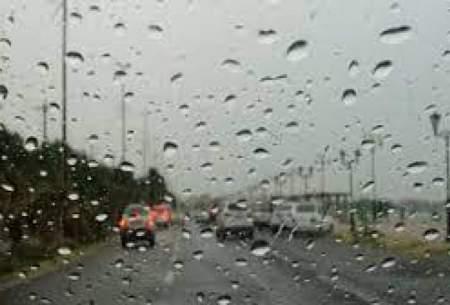 بارش باران و وزش باد در برخی استانها