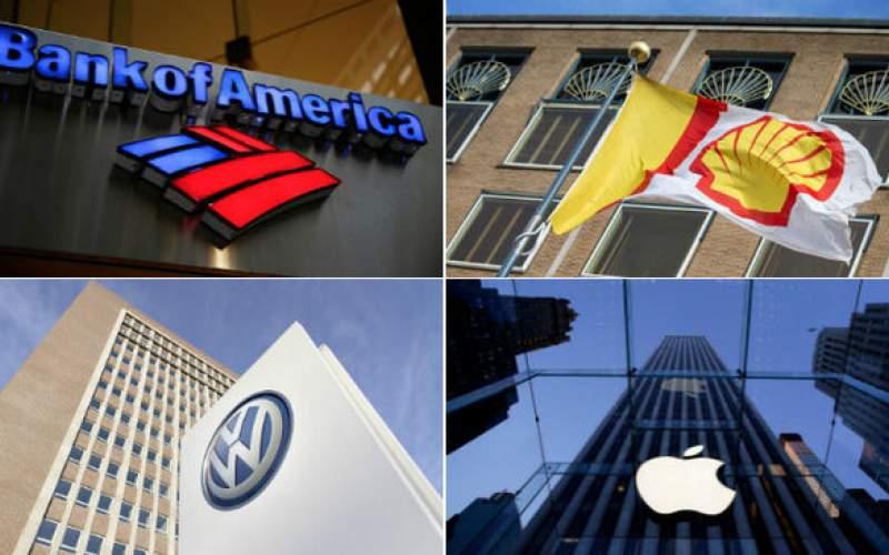 جدیدترین لیست بزرگترین شرکتهای جهان