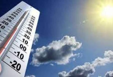 افزایش نسبی دما در بیشتر مناطق کشور