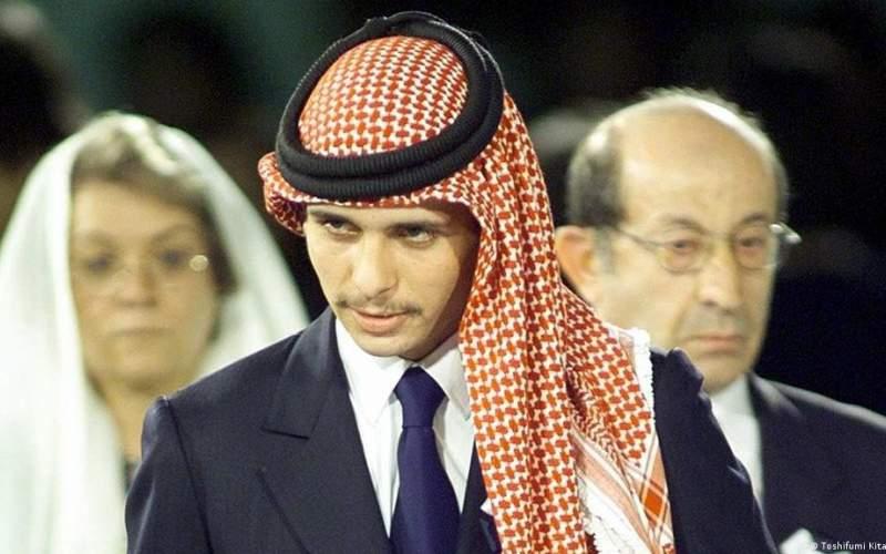 ولیعهد سابق اردن با ملک عبدالله  بیعت کرد