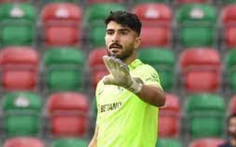 عابدزاده بهترین بازیکن مسابقه ماریتیمو - بنفیکا