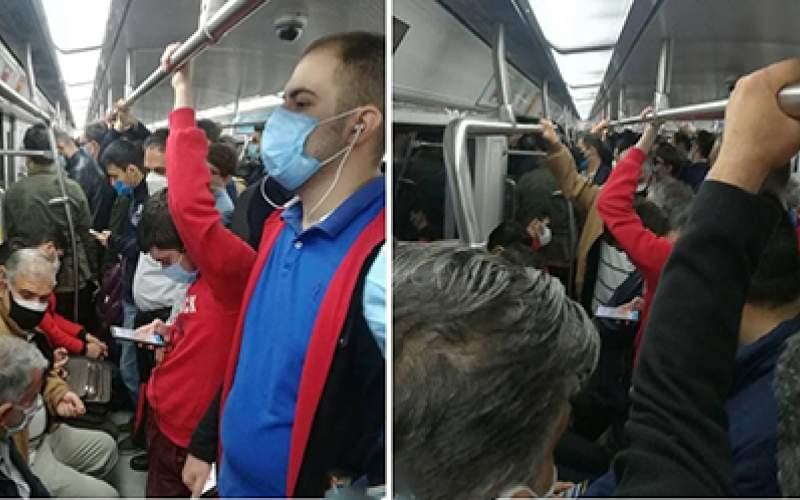 وضعیت متروی تهران در دومین روز قرمز پایتخت