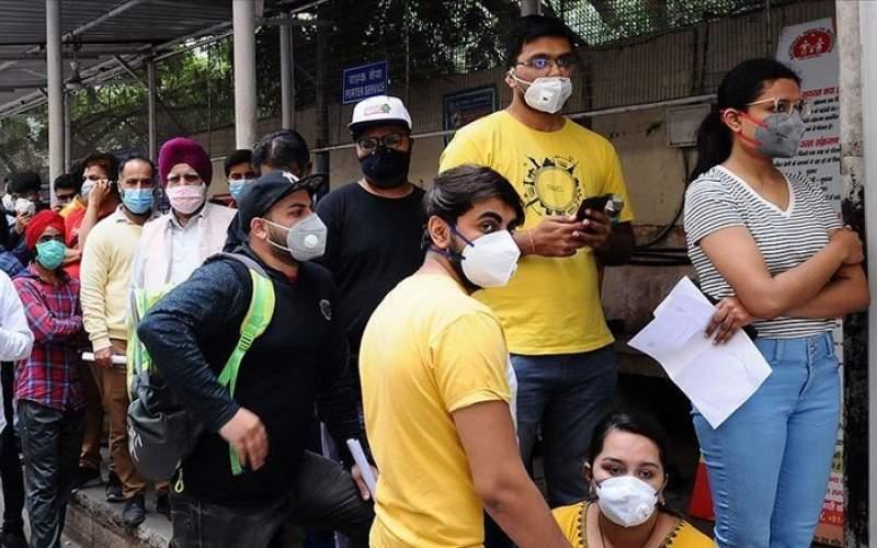 ویروس کرونا در هند رکورد زد