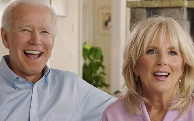 پوشش جنجالی همسر جو بایدن! /عکس
