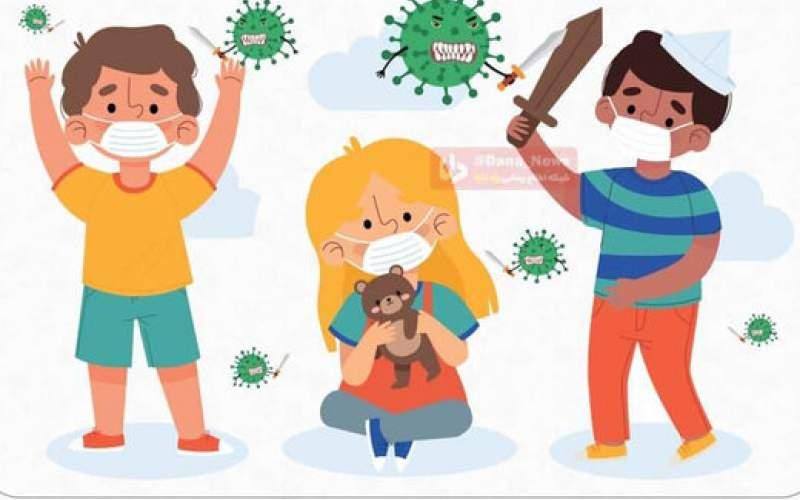 افزایش شیوع کرونا بین کودکان با علایم جدید