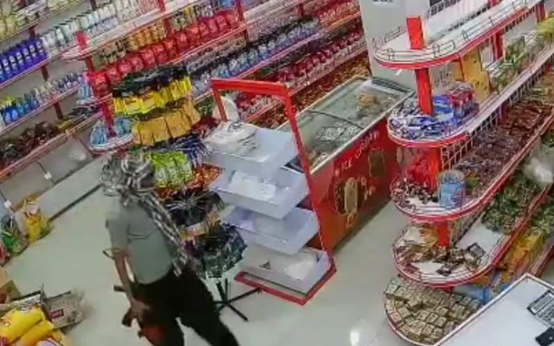 سرقت مسلحانه برای یک گونی برنج