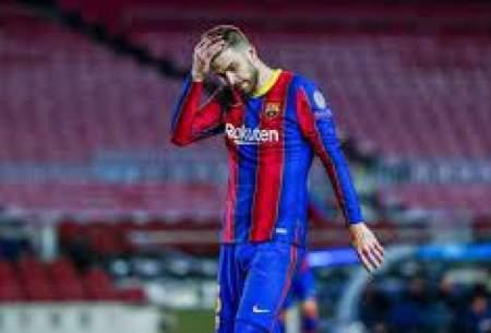 احتمال غیبت مدافع بارسلونا در الکلاسیکو